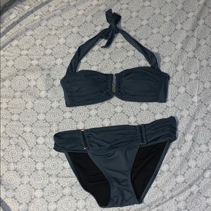 VS Dark Teal Bathing Suit